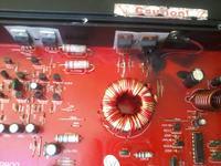 Wzmacniacz samochodowy a/d/s/ MB800 spalona ko�c�wka mocy
