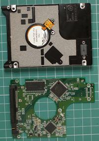 WDC WD1600BEVT-60ZCT1 - WDC ROM MODEL DENALI
