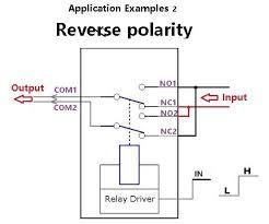 Automatyczne przełączanie polaryzacji elektrod dla prostego ukladu elektrolizy.