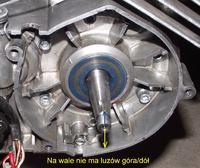 Simson - silnik pracuje tylko przy bardzo przyspieszonym zapłonie (50 stopni)