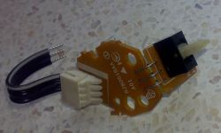 Przełącznik dźwigniowy - Identyfikacja modelu (on)-off-(on)