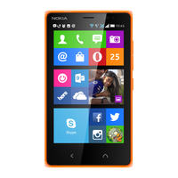 """Nokia X2 - 4,3"""" smartphone z Snapdragon 200 i Android 4.3"""