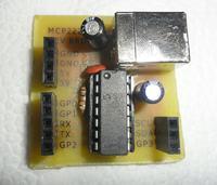 MCP2221 czyli konwerter USB-UART z dodatkami - płytka developerska