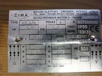 90LA/4 i ML90L2 - Silnik trójfazowy do podnośnika z 230V, ale trochę inaczej