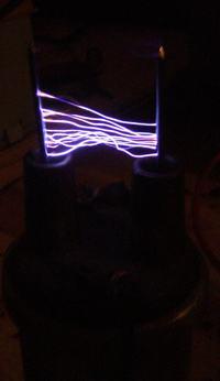 Generator wysokiego napięcia na cewce zapłonowej - 50kV - budowa, opis działania