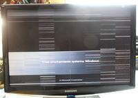 Monitor SAMSUNG 2433BW - dziwne kropki kreski syczenie i cieplo