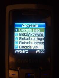 Wgranie oprogramowania do Samsunga c450