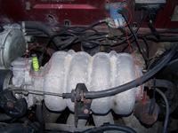 Daewoo Lanos 1,5 16V, podciśnieniowy regulator przepustnicy