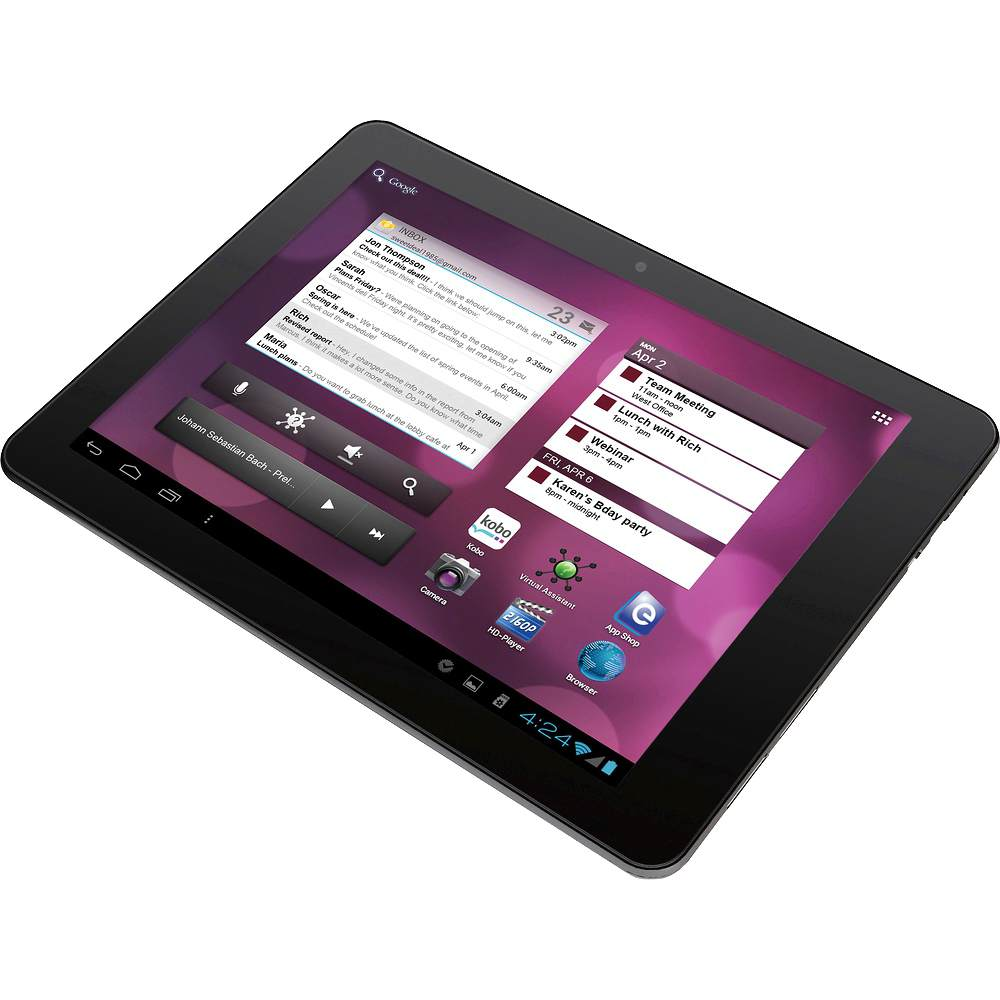 "Ematic eGlide Pro X - bud�etowy tablet z ekranem 9,7"" i Android 4.0"