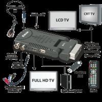 Telestar Profilio 6055T - Telewizor połączony z dekoderem wiwa HD50 nie działa