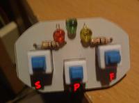 Prze��cznik samochodowy, podl�czenie diod pod prze��czniki