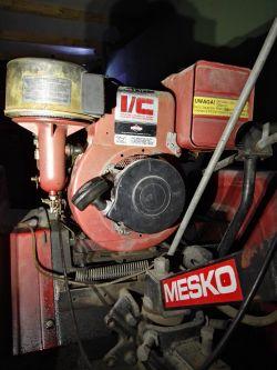 Mikrociągnik RJS-1 - Wymiana silnika starego na nowy silnik Briggs
