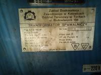 Stara polska spawarka 100A brak regulacji amperomierza