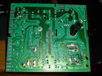 Whirlpool AWM 6125/P - błąd F06 - brak obrotów silnika/spalenizna na płytce
