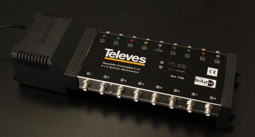 Televes 7438 i Opticum AX800 - Poziom sygna�u TER wej�ciowego...?