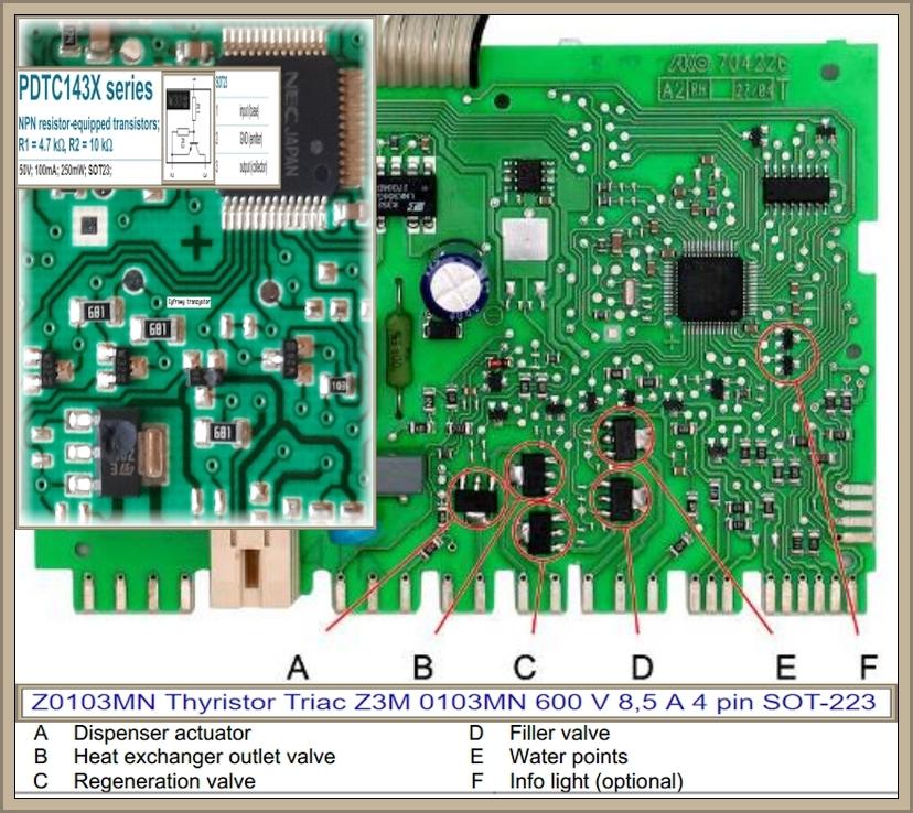 Zmywarka Bosch SRV53M03EU - Nie działa. Brak reakcji.