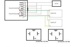 Podłączenie dodatkowych przekaźników do sterownika Ster-max 2K 12V