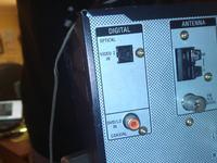 Dźwięk po kablu optycznym z TV 52LG5000 do ampli SONY STR-DE485E