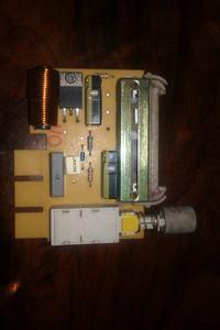 Smeg model KSEG550X nie działą wentylator