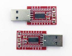 CH551 - mała płytka prototypowa z CH51 i portem USB typu A za 6 zł