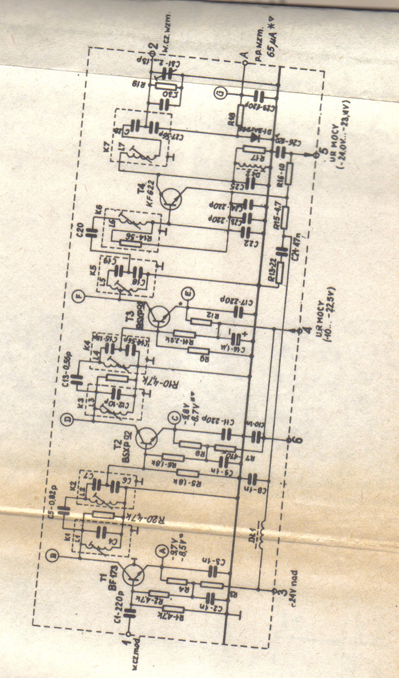 Radmor 3011/1 - Bezskuteczna pr�ba nawi�zania ��czno�ci mi�dzy dwoma Radmorami