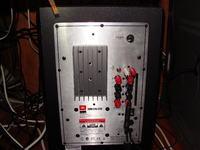 JBL SUB200/230 jak podłaczyc zeby grały 4 głosniki