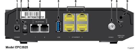 Cisco epc3925 - Sygnał wifi na laptopie i telefonie