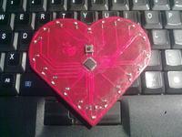 Serce z LED na AtMega8A