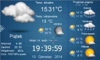 Wyświetlanie pogody na panelu HMI Weintek