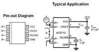 Pomiar prądu z użyciem czujnika ACS712