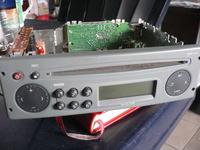 cd Reno Tuner List z wyświetlaczem brak pamięci.