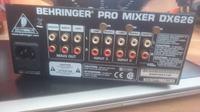 Behringer 626 - Uszkodzenie miksera- poszukiwanie skutków.