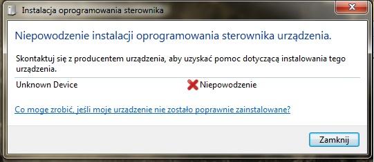Komputer nie rozpoznaje dysku zewnętrznego