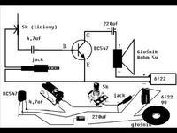 Schemat TDA7384 wytłumaczenie