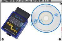 NISSAN NOTE 2006 - Skaner OBD2 BlueTooth nie łączy się z telefonem