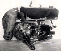 Zap�on w silniczku kajakowym Koenig (ok 1928-1938?)