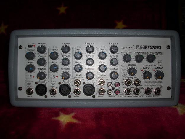 Problem ze wzmacniaczem LDM SMX-6D