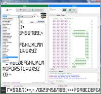 Pixel Factory - generator fontów graficznych LCD (do C)