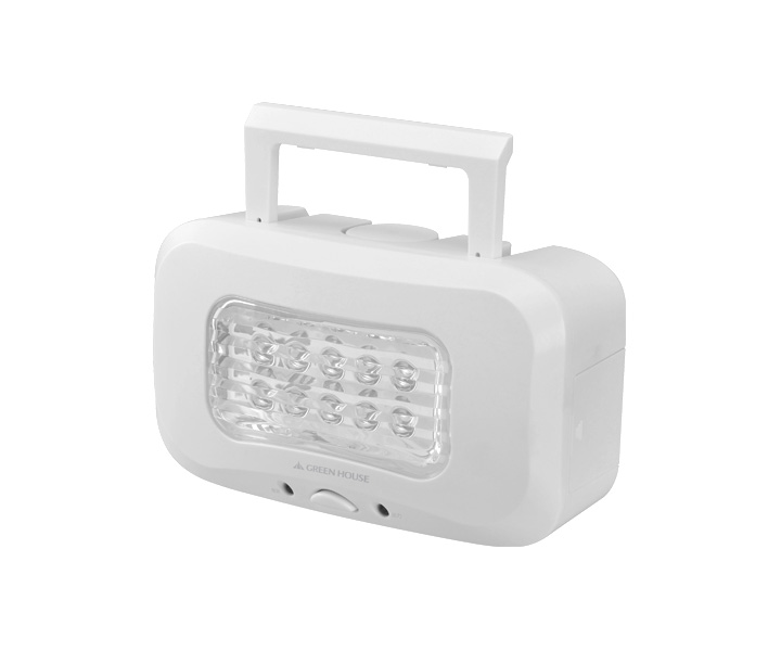 Green House LED10WBA - lampa LED zasilana roztworem wodnym soli kuchennej