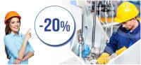 Rabat 20% od TME na automatykę, elementy mechaniczne i wyposażenie warsztatowe