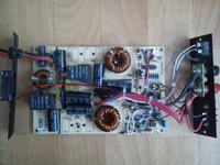 Regulator MPPT do paneli cienkowarstwowych.