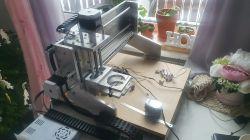 DIY CNC milling machine, another raspberry ..