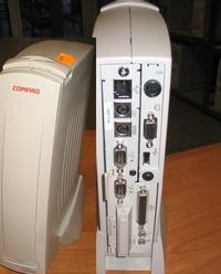 Energooszczędny komputer w obudowie od odtwarzacza DVD/VHS