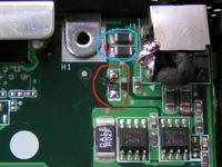 ASUS A3H - identyfikacja elementu na płycie głównej