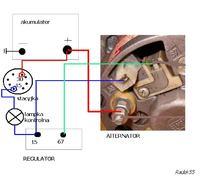 Alternator do ursus c-360