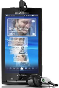 Sony Ericsson Xperia X10 z systemem operacyjnym Android
