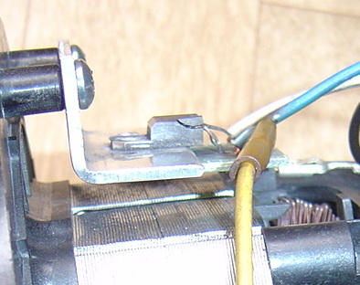 Uszkodzony silnik odkurzacza Zelmer Syrius 1600