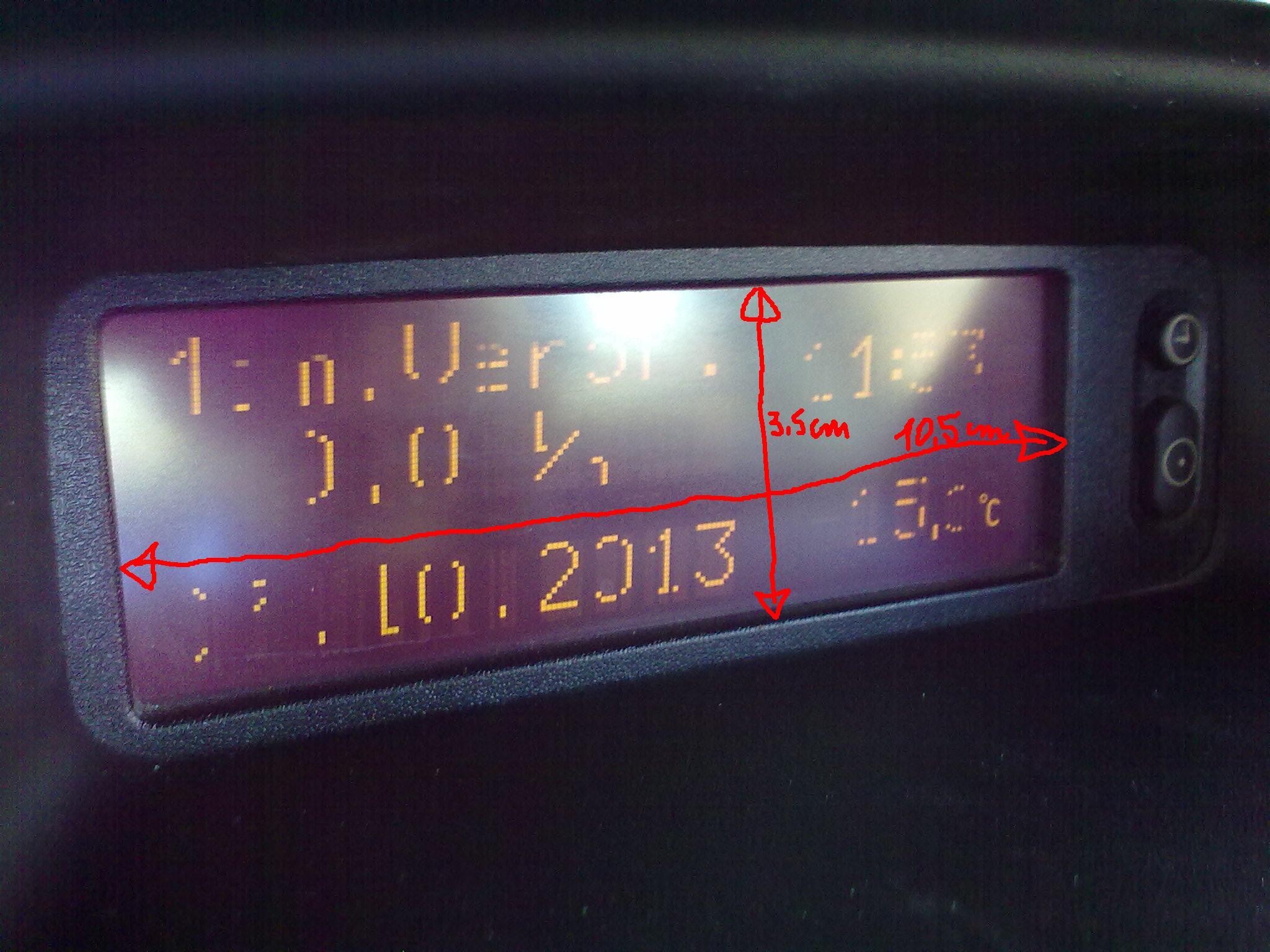 Opel Astra II - Wy�wietlacz, jaki to??