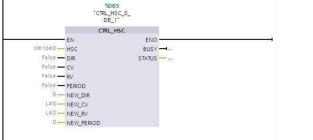 s7-1200 - Enkoder i przerwanie(?) w zerze