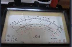 klasa i niepewność wzorcowania miernika analogowego